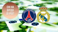 Real Madrid vs PSG: vince chi spende di più?
