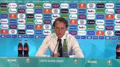 """Europei, Mancini: """"I ragazzi sono stati bravi. Adesso inizia un altro torneo"""""""