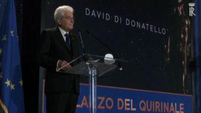 Mattarella: David di Donatello segnale di speranza e ripartenza