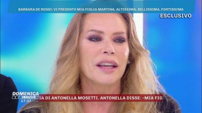Una sorpresa per Barbara De Rossi