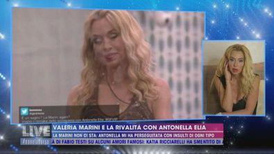 Valeria Marini e la rivalità con Antonella Elia