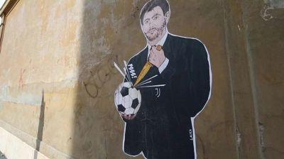 Superlega, Agnelli: murales al presidente Juve vicino alla Figc