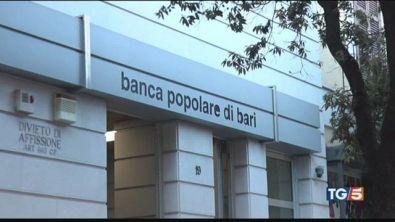 Popolare di Bari, Conte tutelare risparmiatori