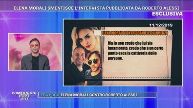 Elena Morali, Scintilla e Daniele Di Lorenzo...