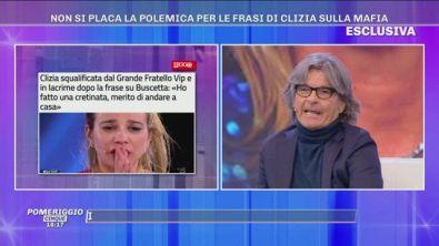 GFVIP - Non si placa la polemica per le frasi di Clizia sulla mafia