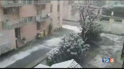 Tempesta di Santa Lucia. Neve, freddo e polemiche