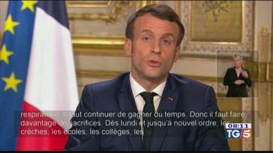 Macron chiude le scuole. In Cina contagi in calo