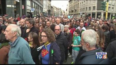 In piazza contro il razzismo