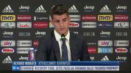 """Juve, Morata: """"Voglio fare 35 gol"""""""