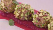 Praline di tacchino e pistacchi