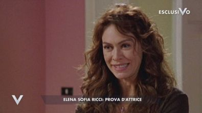 Elena Sofia Ricci: prova d'attrice