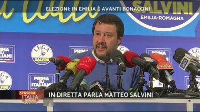 Elezioni: parla Matteo Salvini