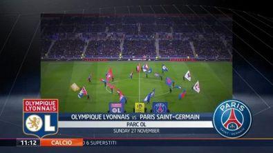Olympique Lyonnais-Paris Saint Germain 1-2