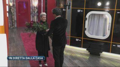 L'ingresso di Barbara Alberti nella Casa di GFVIP