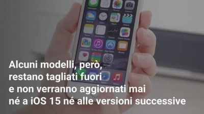 Quali iPhone non si aggiorneranno mai più