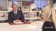 Intervista al leader di Forza Italia Silvio Berlusconi.