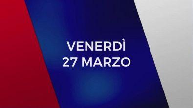 Stasera in Tv sulle reti Mediaset, 27 marzo