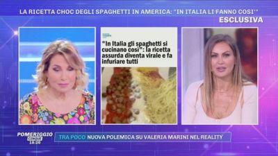 La ricetta choc degli spaghetti in America: ''In Italia li fanno così''