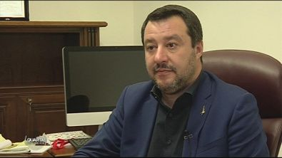 Salvini commenta i risultati del voto in Abruzzo