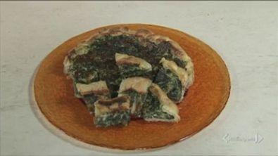 Torta salata spinaci e fontina