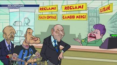 Cartoons, Marotta vuole restituire Nainggolan