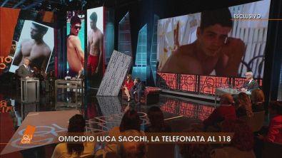 Caso Luca Sacchi: la chiamata al 112