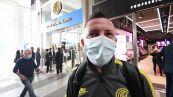 Scudetto Inter, tifosi in coda allo store di Milano per le magliette celebrative