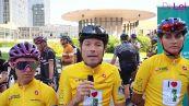 Inizia il Bike tour a sostegno della Fondazione per la Ricerca Fibrosi Cistica