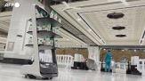Mecca, acqua santa distribuita dai robot per le norme anti Covid
