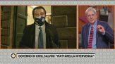 156 sì al Governo Conte, il commento di Matteo Salvini