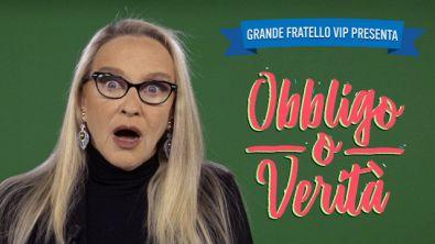 """#GFVIP presenta """"Obbligo o Verità"""" con Eleonora Giorgi"""