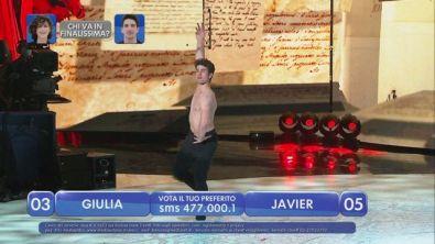 """Javier balla la variazione dal """"Don Quixote"""" - La finale - Secondo girone"""