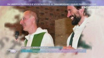 In Umbria parroco e viceparroco si innamorano di due parrocchiane