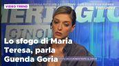 Il crollo di Maria Teresa Ruta, le reazioni di Guenda Goria e dei social