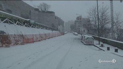 Neve, oggi tocca a Napoli