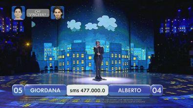 Alberto vs Giordana - La finalissima - V esibizione