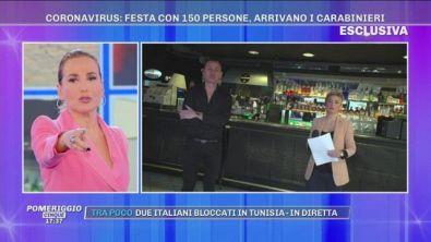 Coronavirus: festa con 150 persone, arrivano i Carabinieri