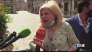 La protesta di Sandra Milo per i lavoratori dello spettacolo