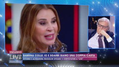 """Sabrina Colle: """"Sgarbi ed io siamo una coppia casta"""""""