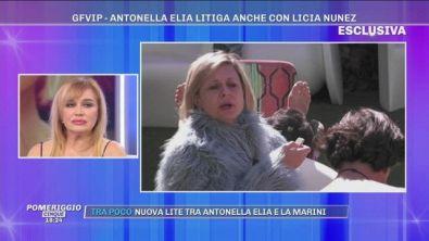 GFVIP, Antonella Elia litiga anche con Licia Nunez