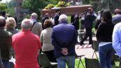 Strage Mottarone, i funerali di Silvia e Alessandro a Varese