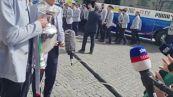 Europei, Mancini esce dal bus per entrare al Quirinale