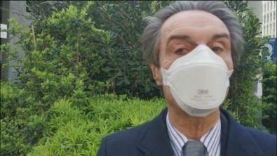 Lombardia, mascherine obbligatorie per chi esce