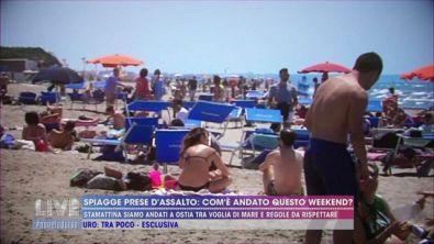 Spiagge prese d'assalto: com'è andato questo weekend?