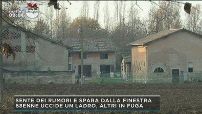 Bazzano, 68enne uccide un ladro