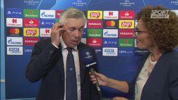 """Ancelotti: """"Ci sentiamo molto amati"""""""