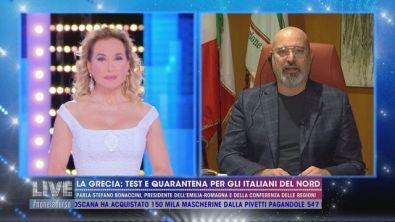 La Grecia: test e quarantena per gli italiani del nord