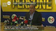 Elezioni, parla Nicola Zingaretti