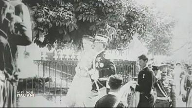 Il primo grande matrimonio dell'epoca contemporanea in italia