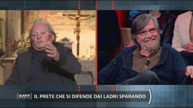 Don Mandrelli e le armi in canonica